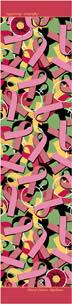 Breast Cancer /Vigilance Scarf (Pink/Green/Yellow)