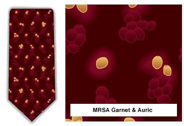 MRSA Neck Tie (Garnet & Auric)