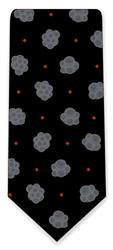 Stem Cells Neck Tie (Black & Grey)